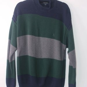 NAUTICA MEN'S LONG SLEEVES SWEATER Size Large